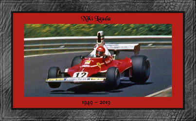RIP Niki Lauda by AlberichPotter
