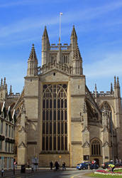 Bath Abbey by AlberichPotter