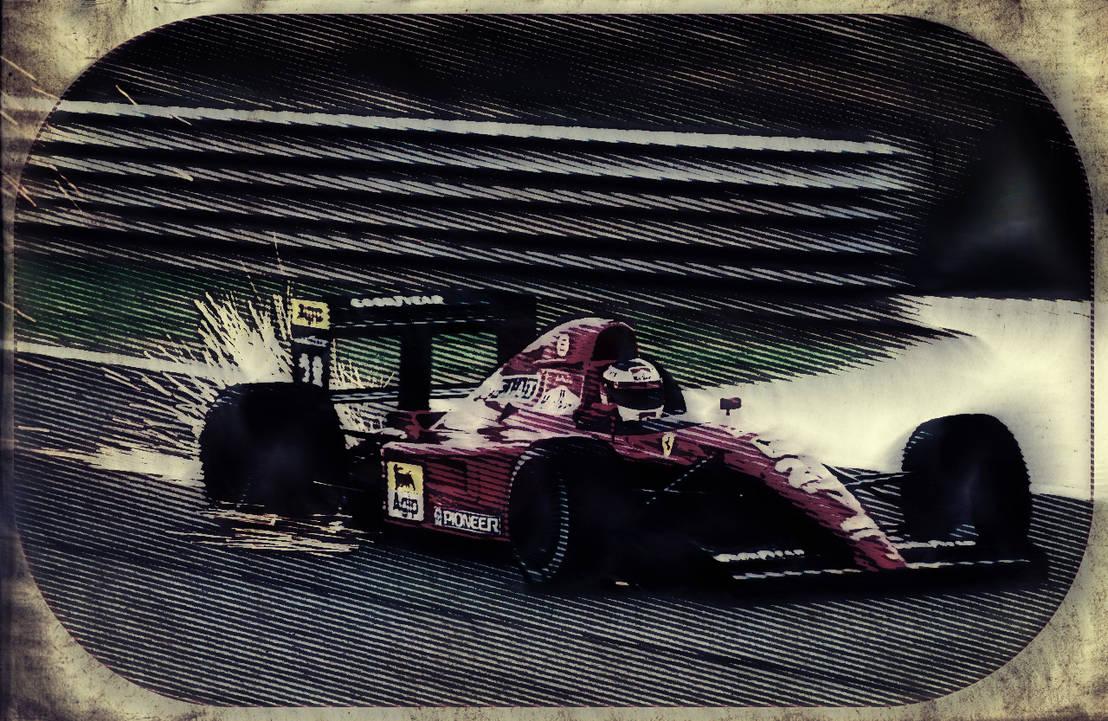 Ferrari 643 at Estoril