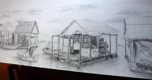 Vietnam Shanty Town