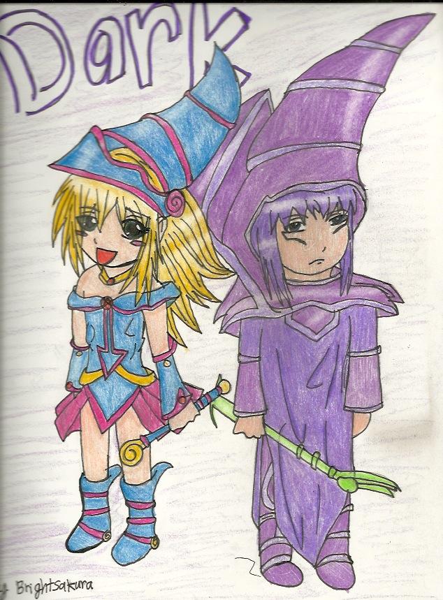 The Dark Magicians by Akarui-Sakura