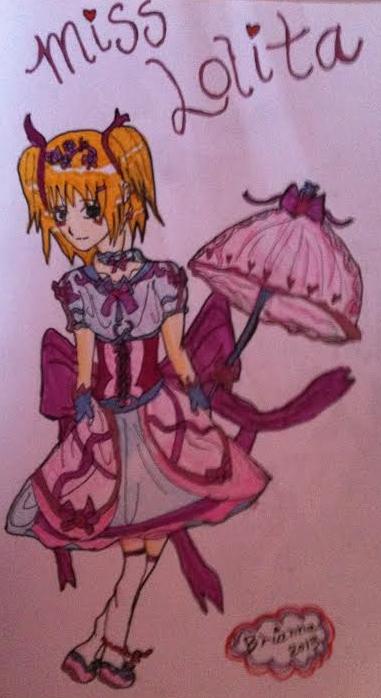 Little Lolita Girl by Akarui-no-Sakura