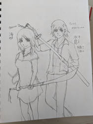 Manga sketch?
