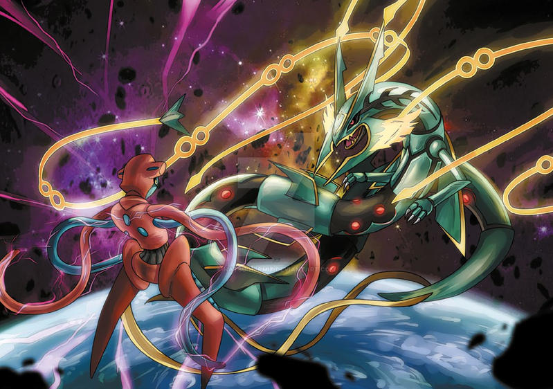 Rayquaza Vs Deoxys | www.pixshark.com - Images Galleries ...
