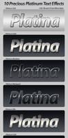 Precious Platinum Text Effects