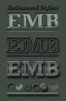Embossed 3D-Look Styles by MuzikizumWeb
