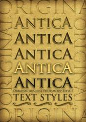 Antica  Ancient Text Styles by MuzikizumWeb