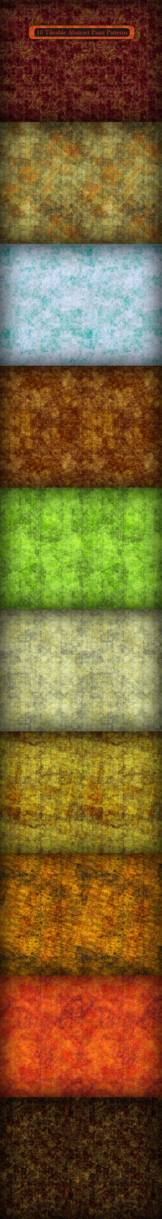 10 Abstract Paint Textures by MuzikizumWeb