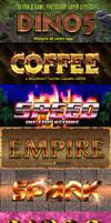 10 Fun Game Photoshop Styles by MuzikizumWeb