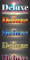 10 DeLuxe Photoshop Layer Styles by MuzikizumWeb