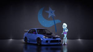 Trixie + Subaru Impreza