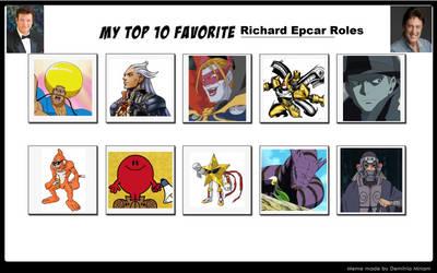 My Top 10 Favorite Richard Epcar Roles
