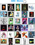 Favorite Q Characters (abc meme)