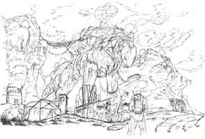Spyro TJH: Goliath Village by NewLegend1