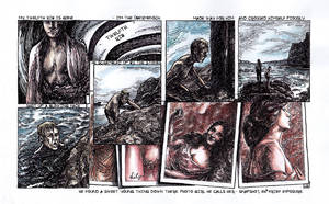 Ulysses Pages - No 12. Twelfth rib by besnglist