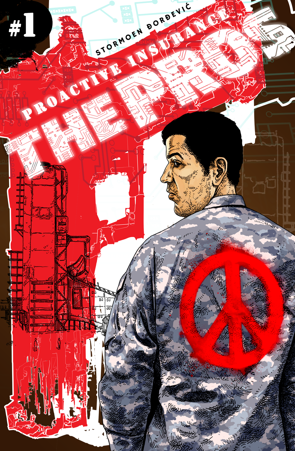 The Pros cover issue 1 by besnglist