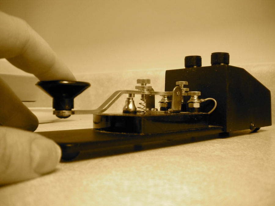 Telegraph Key by KodeMaster