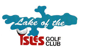 Lake of the Isles Golf Club Logo by KodeMaster