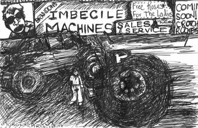Brandon's Imbecile Machines by ArtByJenX
