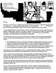 Lunacy Letter from Damien Hurlbutt by ArtByJenX