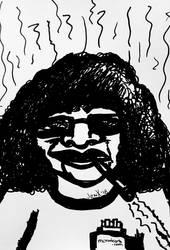 Smokey Ashe by ArtByJenX
