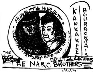 The Narc Brothers by ArtByJenX