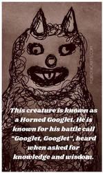 Horned Googlet by ArtByJenX