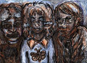 MoronicArts - The Kibble Family Portrait - 1970