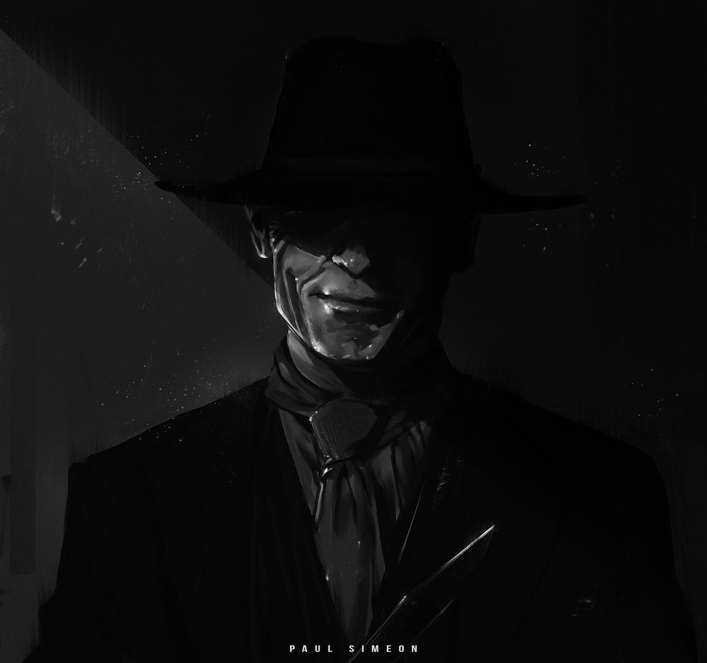 WESTWORLD | The Man in Black : YouTube! by paulsimeonart