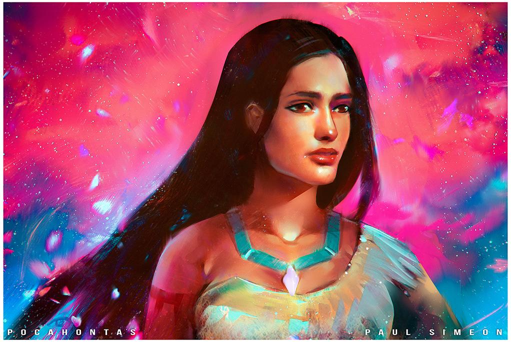 Pocahontas : YouTube! by paulsimeonart
