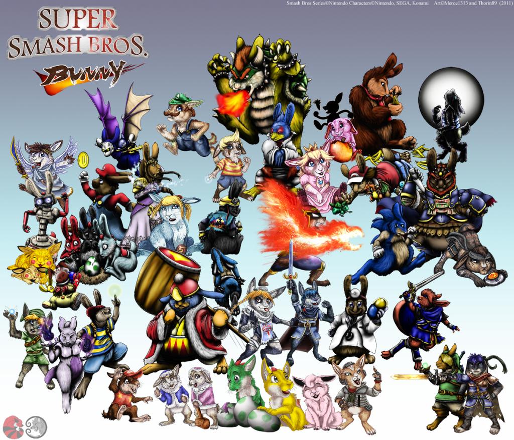 Super Smash Bunnies COMPLETE by meroe1313