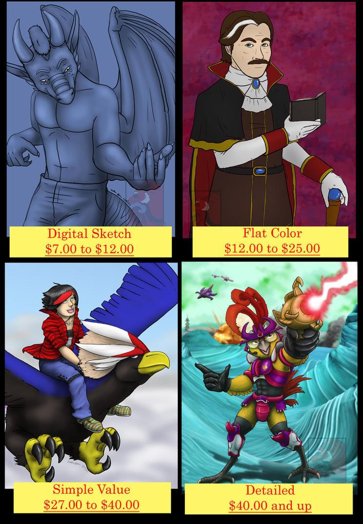 Meroe1313's Commission Page by meroe1313