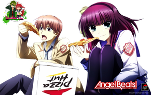 Angel Beats Render by MyrkaRauda97
