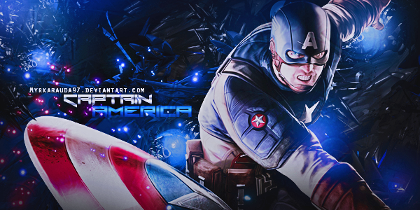 Captain America by MyrkaRauda97