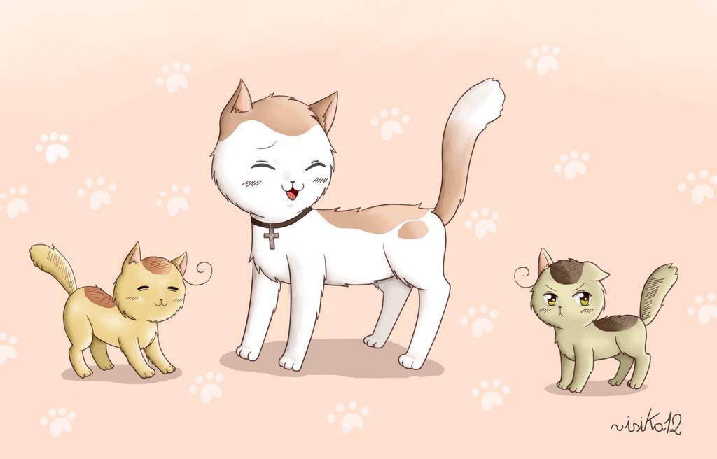 Nekotalia-Romano (Romano cat) - DeviantArt