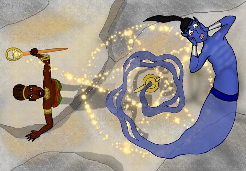 A djinn's tale - Part 2 by hippo2