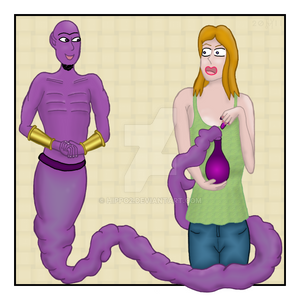 The Genie and the girl