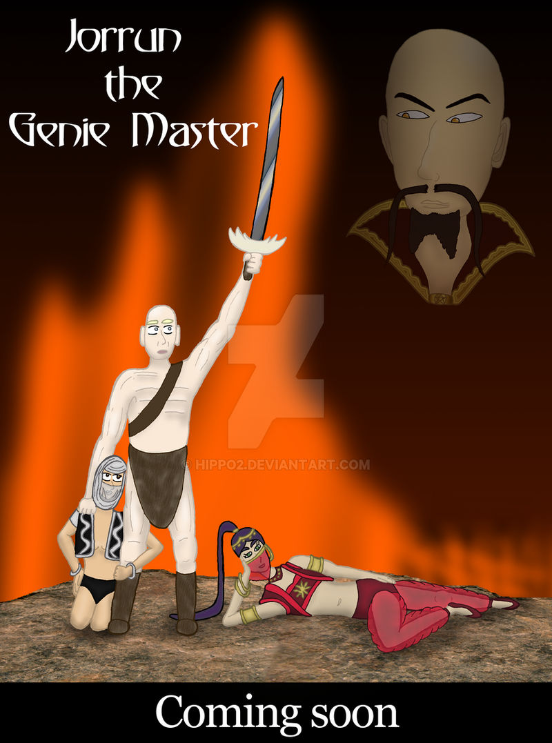 Jorrun, the Genie Master