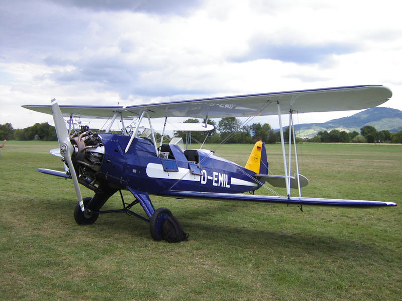 Focke-Wulf FW-44 Stieglitz by hippo2