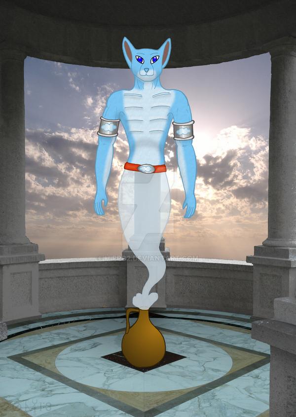 Elemental Genies: Air by hippo2