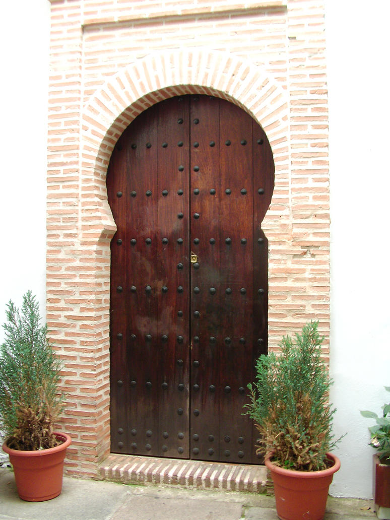 Stock: Moorish door by hippo2