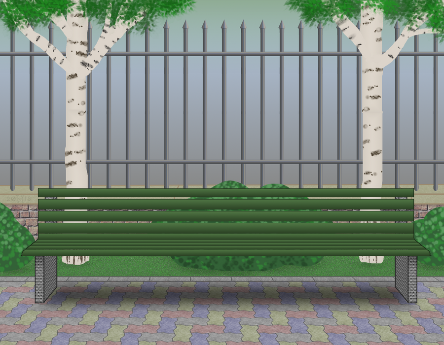 Stock: Park by hippo2