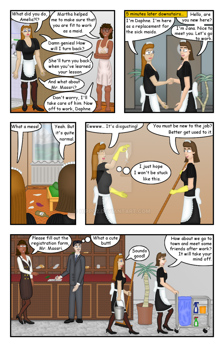 Doing a Maid's Job - Page 2/8 by hippo2