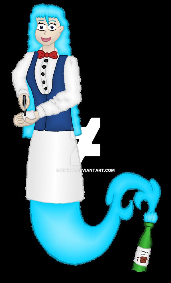 Art Trade: Genie Diana by hippo2