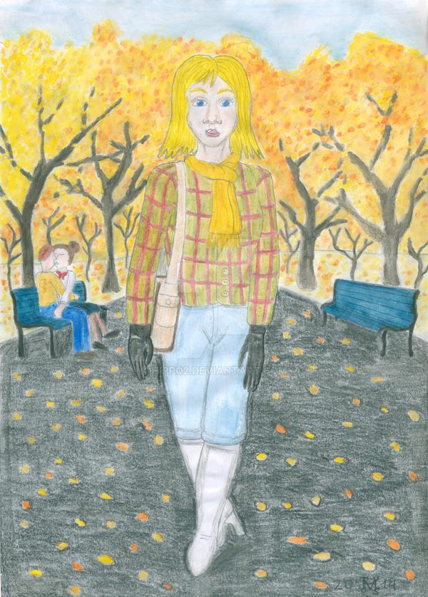 Une Anne-Laure pour toutes les saisons: L'automne by hippo2