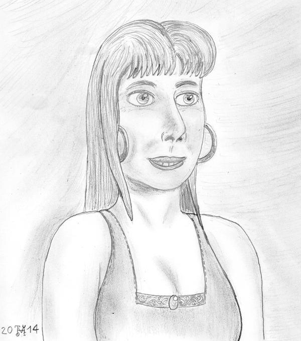 Realistic genie Martha by hippo2