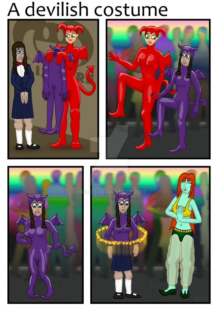 LilimWare's Jester Jam: A devilish costume by hippo2