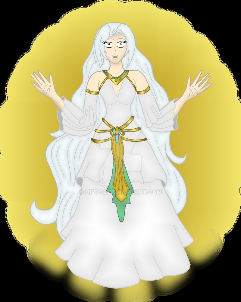 Art Trade: Goddess Eshe by hippo2