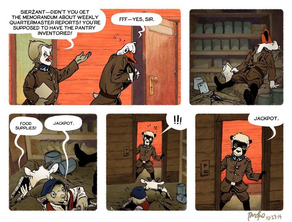 Rudek and the Bear #53 by PeterDonahue