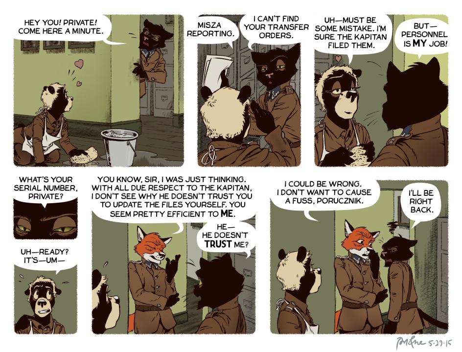 Rudek and the Bear #64 by PeterDonahue